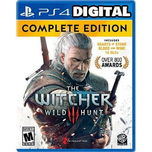 The Witcher 3: Wild Hunt - Complete Edition - Ps4 - Mídia Digital