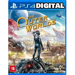 The Outer Worlds - Ps4 - Midia Digital