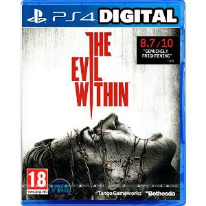 The Evil Within - Ps4 - MÍdia Digital