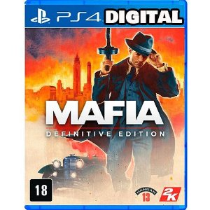 Mafia Definitive Edition Ps4 - Midia Digital