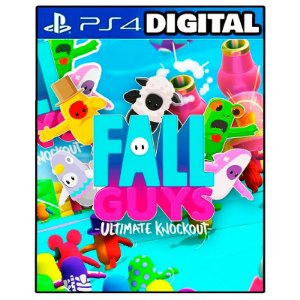 Fall Guys Ultimate Knockout - Ps4 - Midia Digital