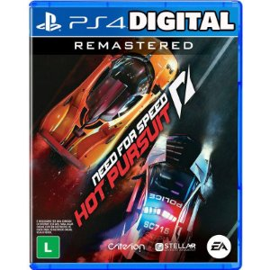 Need for Speed Hot Pursuit Remastered - Ps4 - Midia Digital