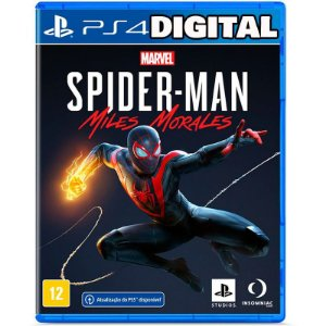 Marvel Spider Man - Miles Morales - Ps4 - Mídia Digital