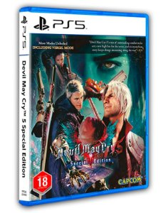 Devil May Cry 5 Special Edition Ps5 Mídia Digital