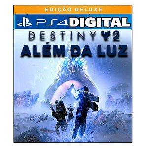 Destiny 2 Além A Luz - Edição Deluxe - Ps4 - Mídia Digital