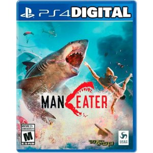 Maneater Ps4 - Ps5 - Mídia Digital