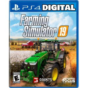 Farming Simulator 19 - Ps4 - Midia Digital