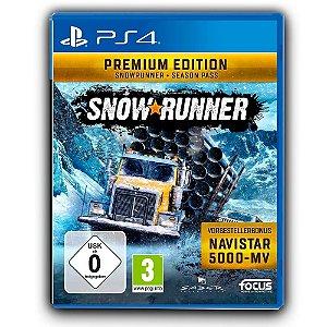 SnowRunner Premium Edition Ps4 - Mídia Digital
