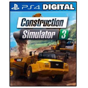 Construction Simulator 3 - Console Edition - Ps4 - Midia Digital