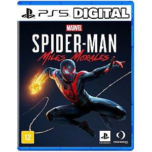 Marvel Spider Man - Miles Morales - Ps5 - Mídia Digital