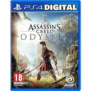 Assassin's Creed Odyssey - Ps4 - Mídia Digital