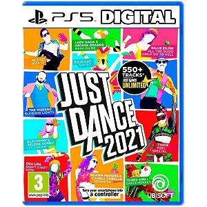 Just Dance 21 - 2021 - Ps5 - Mídia Digital
