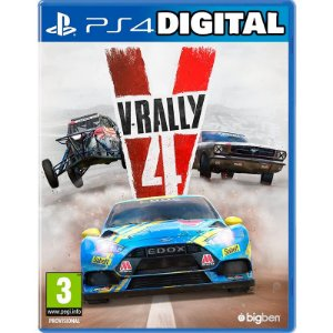 V-Rally 4 - Ps4 - Mídia Digital