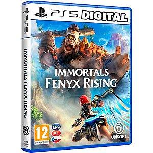 Immortals Fenyx Rising PS4 - PS5 - Mídia Digital