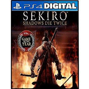 Sekiro Shadows Die Twice - Edição Jogo do Ano - Ps4 - Mídia Digital