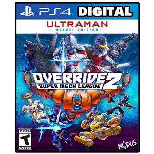 Override 2 Super Mech League - Ultraman Edition Ps4 - Ps5 - Mídia Digital