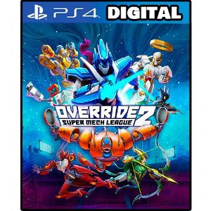 Override 2 Super Mech League - Ps4 - Ps5 - Mídia Digital