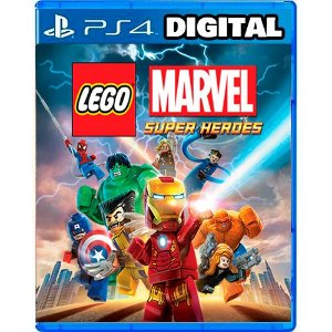 Lego Marvel Super Heroes - Ps4 - Mídia Digital