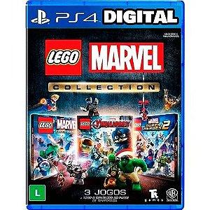 Coleção Lego Marvel - Ps4 - Mídia Digital