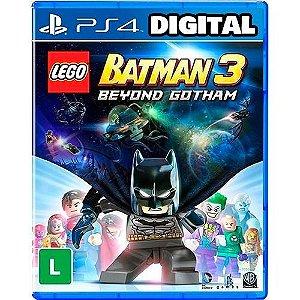 Lego Batman 3 Além De Gotham - Ps4 - Mídia Digital