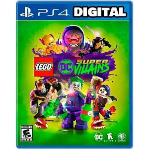 Lego Dc Super Vilões - Ps4 - Mídia Digital