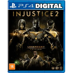 Injustice 2 - Legendary Edition - Ps4 - Mídia Digital