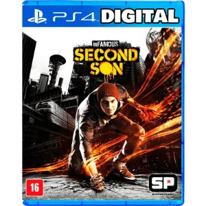 inFAMOUS Second Son - Ps4 - Mídia Digital