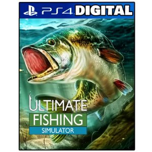 Ultimate Fishing Simulator - Ps4 - Mídia Digital