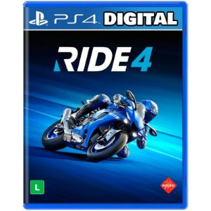 Ride 4 Ps4 - Mídia Digital
