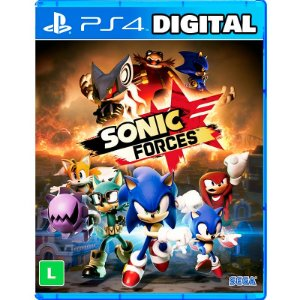 Sonic Forces - Ps4 - Mídia Digital