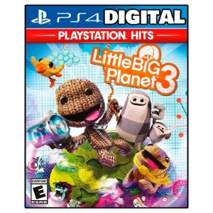 Little Big Planet 3 - Ps4 - Mídia Digital