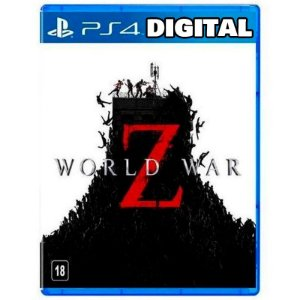 World War Z - Ps4 - Mídia Digital