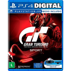 Gran Turismo Sport - Ps4 -Mídia Digital