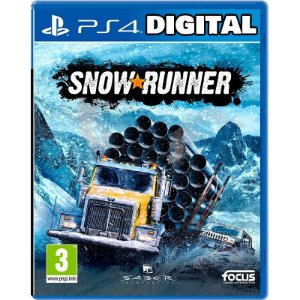 SnowRunner - Ps4 - Mídia Digital