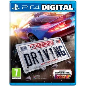 Dangerous Driving - Ps4 - Mídia Digital