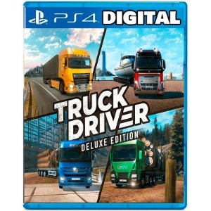 Truck Driver Deluxe Edition - Ps4 - Mídia Digital