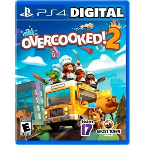 Overcooked 2 Ps4 Mídia Digital
