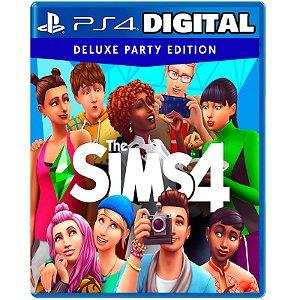 The Sims 4 Edição Festa Deluxe - Ps4 - Ps5 - Mídia Digital