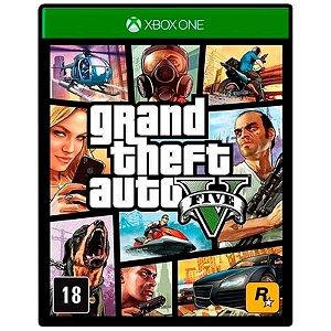 Gta 5 - Grand Theft Auto V Xbox One - Mídia Digital