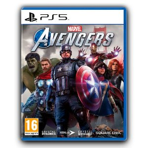 Marvels Avengers Ps5 Mídia Digital