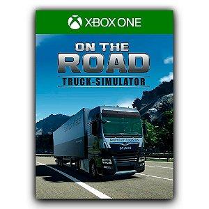 On The Road The Truck Simulator Xbox One Mídia Digital
