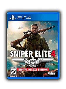 Sniper Elite 4 Deluxe Edition Ps4 Mídia Digital