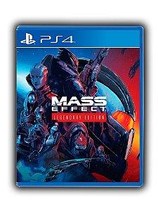 Mass Effect Legendary Edition Ps4 Mídia Digital