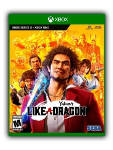 Yakuza Like a Dragon Xbox One Mídia Digital