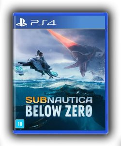 Subnautica: Below Zero Ps4 Mídia Digital