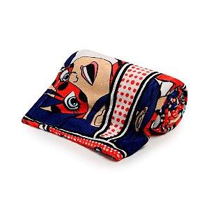 Manta Flannel Infantil Ladybug