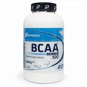 Bcaa Mastigável 200 Tabletes Performance Nutrition
