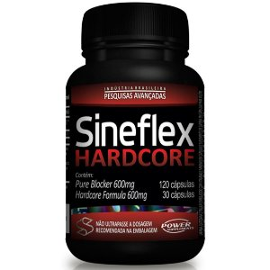 SINEFLEX HARDCORE 150 CAPS (120/30) POWER SUPLEMENTS