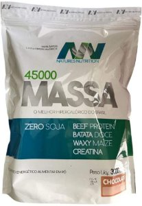 MASSA 45000 3KG NATURES NUTRITION