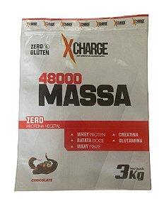 MASSA 48000 XCHARGE 3KG COM BATATA DOCE E CREATINA